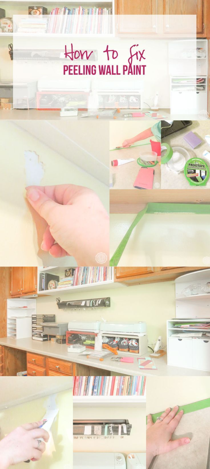 How To Fix Peeling Wall Paint Happily Ever After Etc Peeling Wall Wall Painting Paint Repair