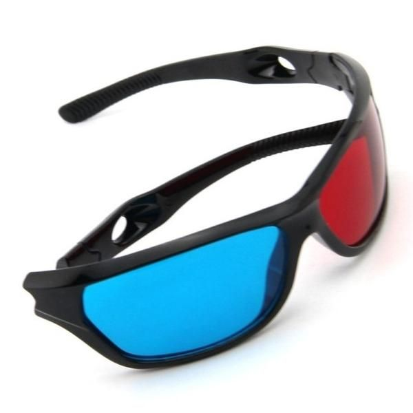 Red Blue Plasma Plastic 3D Glasses – Sonic Electronics & Computers
