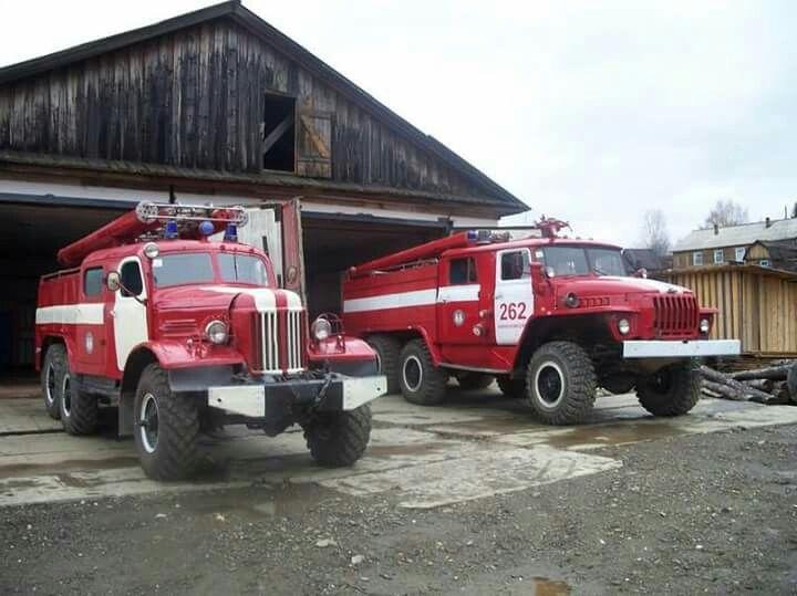 Russian Fire Trucks Fire Engines Pinterest Fire