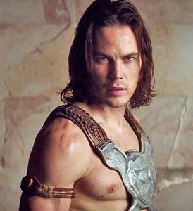 """Taylor Kitsch: """"I'm very proud of 'John Carter.' Box office doesn't validate me as a person, or as an actor"""". - No but that leather and metal stuff validates you as a beautiful man."""