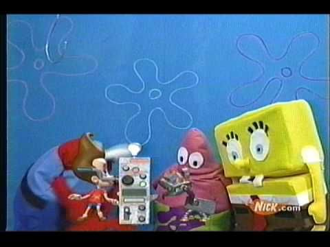 "Odd Jimmy Neutron promotion during Spongebob Episode ""Playing Hooky"" c. 2001. https://youtu.be/oI1dkuSx2uw"