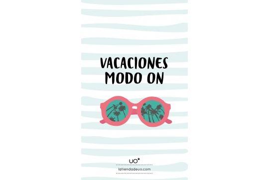"""Fondo para móvil """"Vacaciones Modo On"""""""