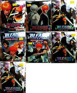Bleach: Season 1 - 16 (1 - 366End + 2 Movie + OVA) ~ 46-DVD 7-Box ~ DHL Express