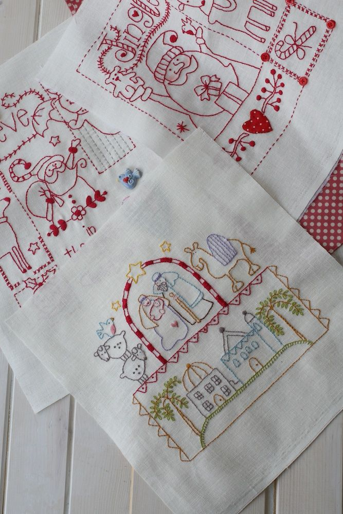 The Family Sampler-Stitch Now for Christmas. - Red Brolly