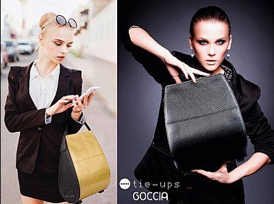 Una borsa, molti stili differenti! Cambia cover tutte le volte che vuoi:)  Anche in francese si dice Goccia. #Paris