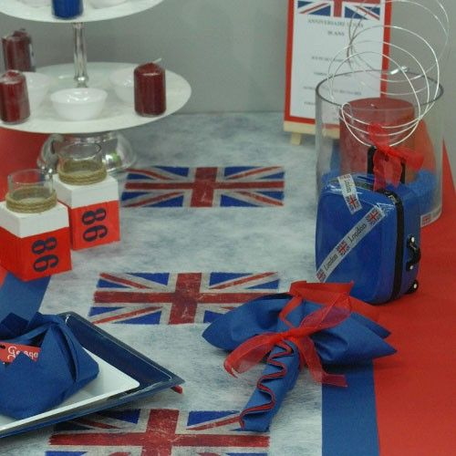 D coration de table sur le th me de l 39 angleterre ou de for Decoration theme angleterre