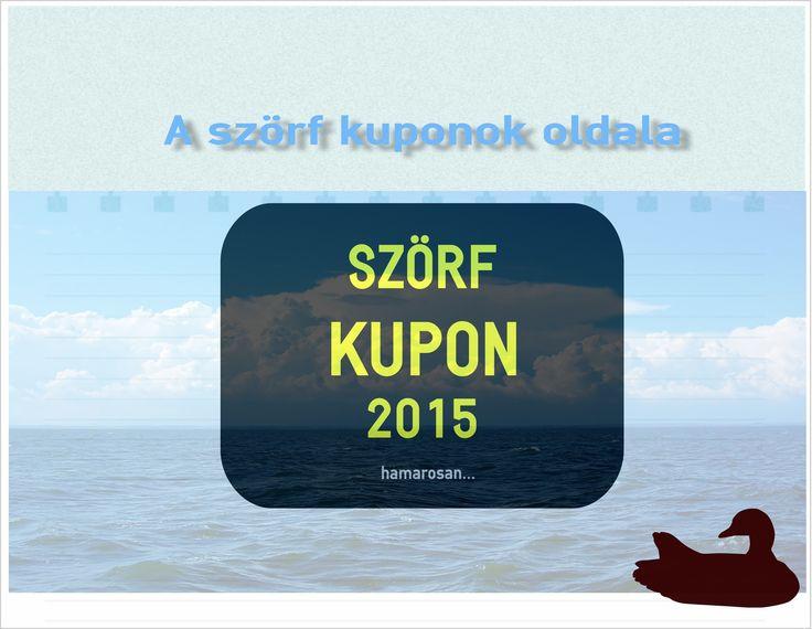 Szörf oktatás kupon Balaton   Hol és milyen szörf akciók és szörf kuponok lesznek a 2015-ös szezonban ?   Május körül megjelennek a szezon első szörfkupon ajánlatai a Balaton és a Velencei tó térségére vonatkozólag.Ilyenkor a kedvezmények sokszor meghaladják az 50 %-ot is, ezért érdemes ezekre figyeni. Mi sem fogjuk...