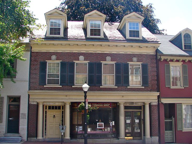 Lancaster Historic District in Pennsylvania.