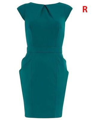 Green structured dress - collect 30 nectar points when you buy