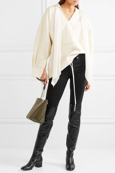 Gianvito Rossi - Leather Over-the-knee Boots - Black - IT41.5