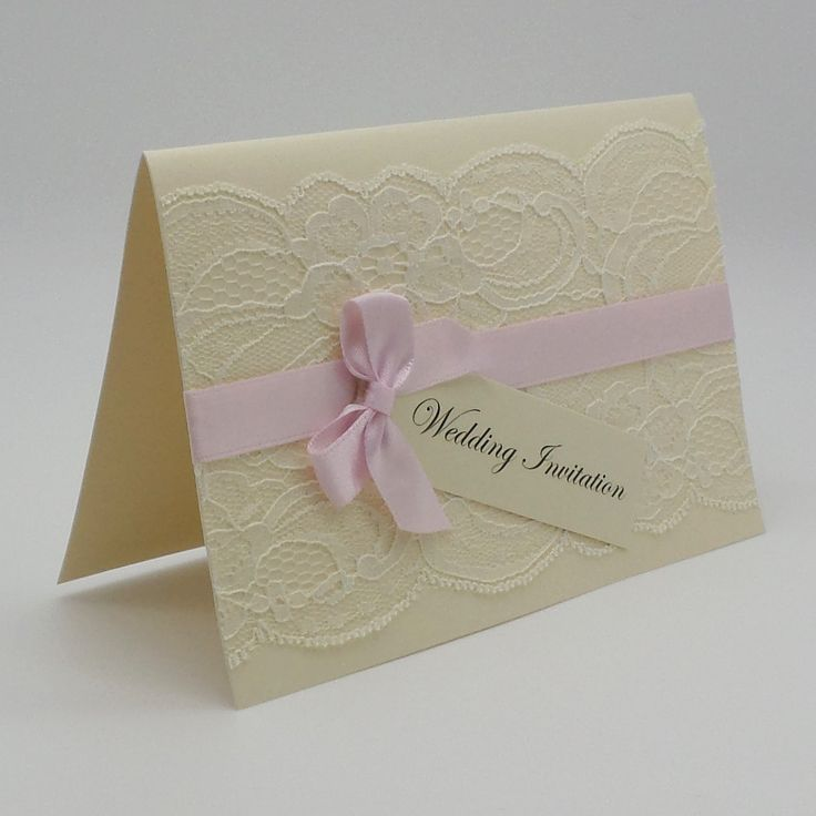 HANDMADE OR DIY SELF ASSEMBLY INVITATIONS AVAILABLE