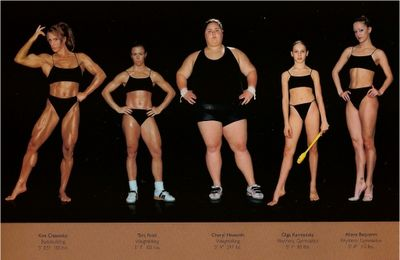 """""""When did being an athlete become more about how a body looks and less about what it can do?"""""""