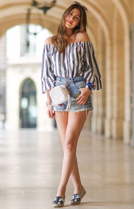 С чем носить джинсовые шорты: 20 модных идей, которые тебя удивят   Журнал Cosmopolitan