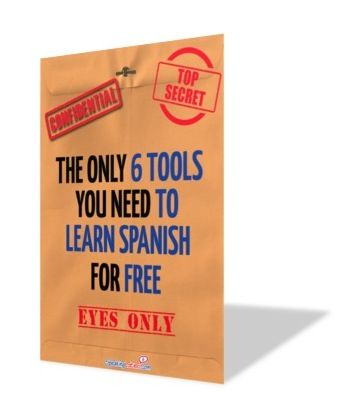 The Only 6 Tools You Need to Learn Spanish for Free #LearnSpanish #FreeEbook