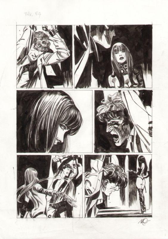 Dylan Dog # 280 tav. 64 - Carnevale Comic Art