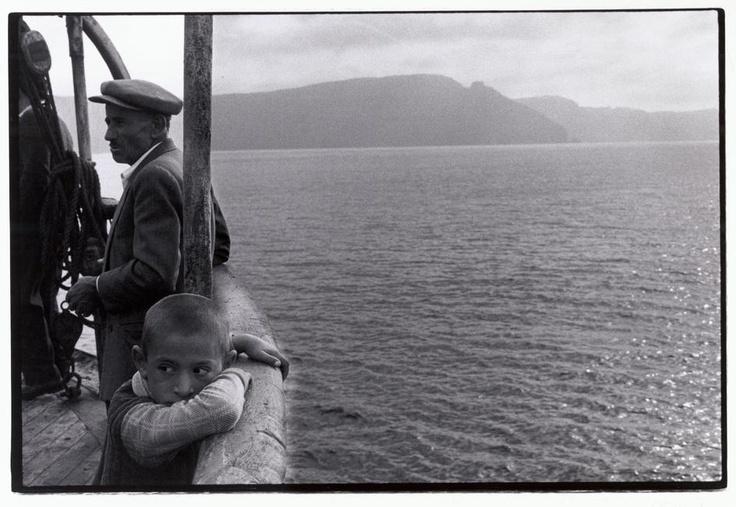 Constantine Manos/Magnum Photos Greece. Dodecanese. 1964. Aboard an island steamer