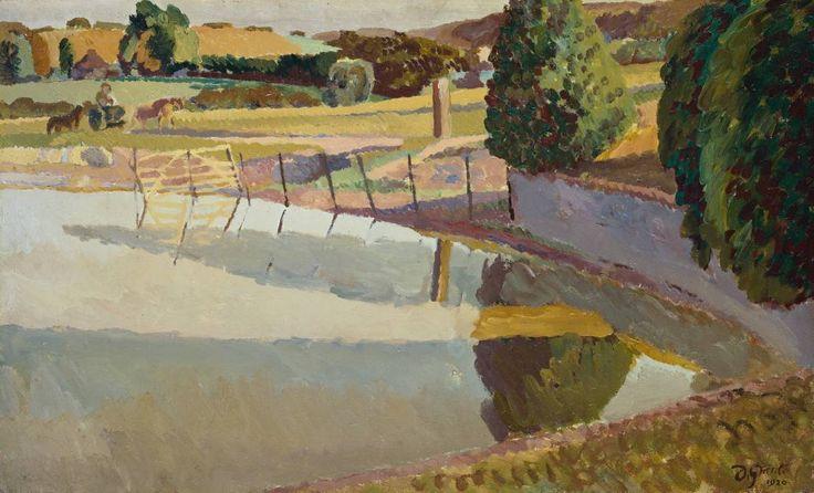 Landscape, Sussex 1920, Duncan Grant