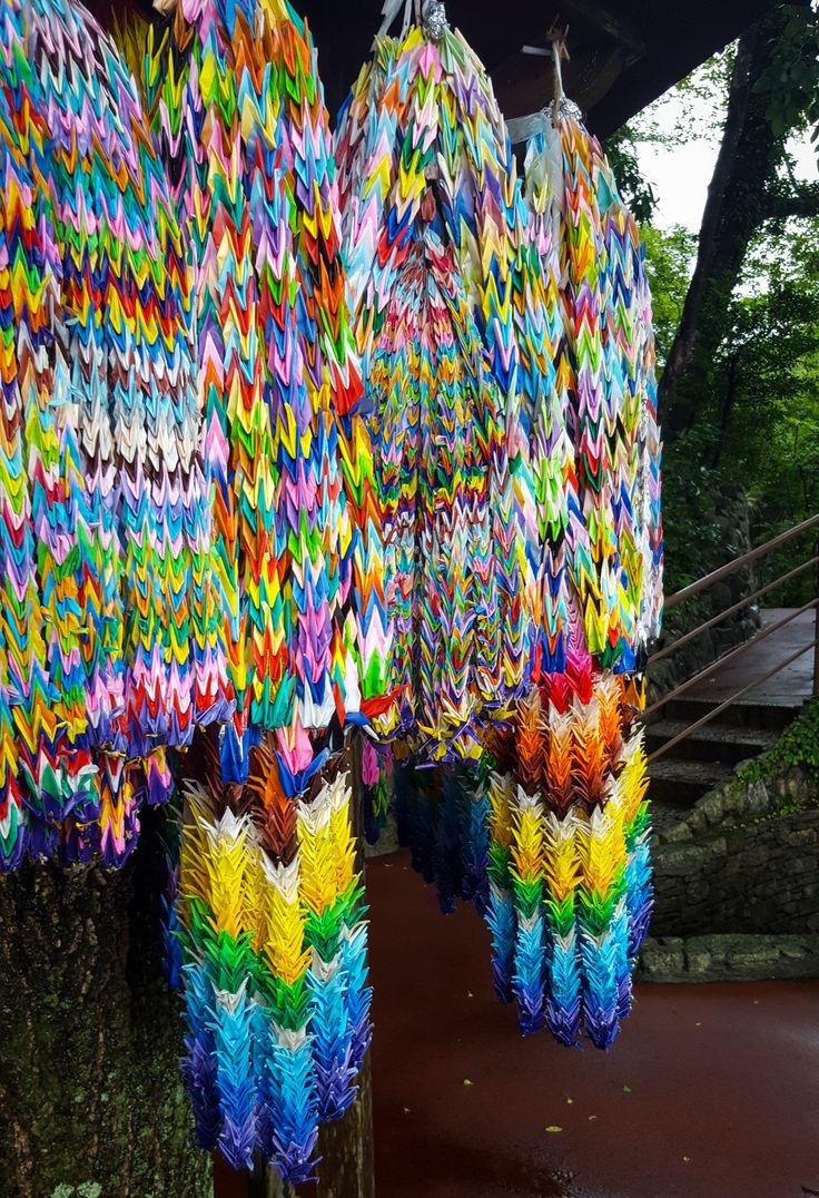 One Thousand paper Cranes Nanzoin Temple Fukuoka
