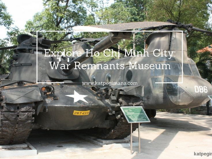 The War Remnants Museum is a gallery that speaks of the Vietnam War and its legacies.