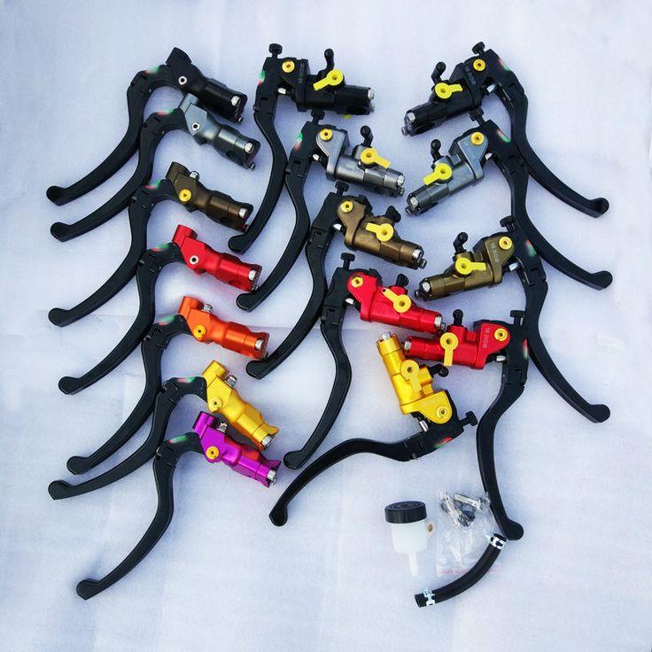Universal CNC Multicolor motorrad Kabel Kupplung Hydraulische bremse kupplung pumpe hauptbremszylinder griff Für Yamaha Kawasaki Suzuki