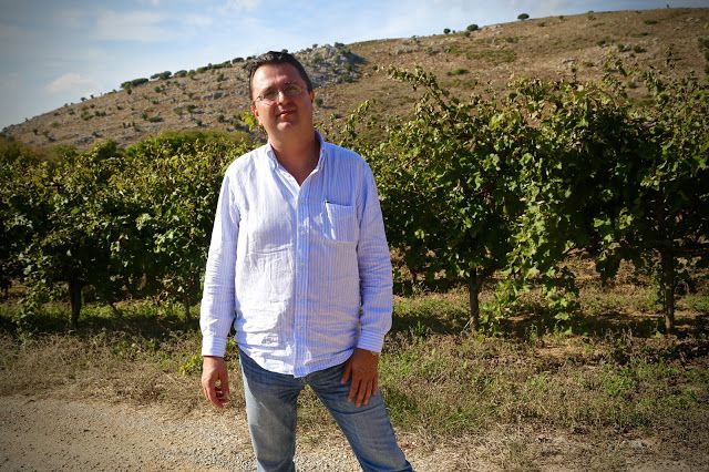 #Nikos_Miliarakis, owner of #Minos #wines,# crete