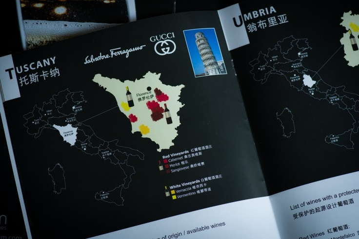 Client: Vitinium. Creation of catalogue.  #wine #china #hongkong #shanghai #italianwines #barolo #franciacorta #chianti #brunello #lambrusco #hk
