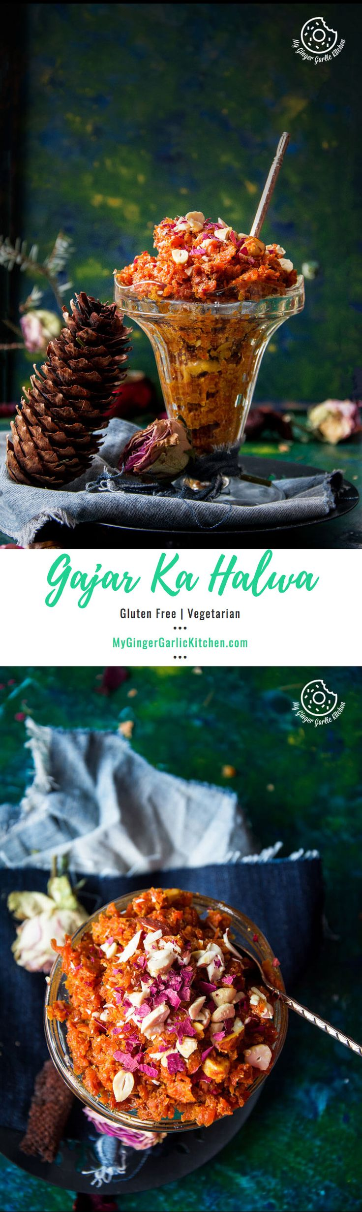 Gajar Ka Halwa — A Popular Indian #Dessert made with only 6 ingredients.