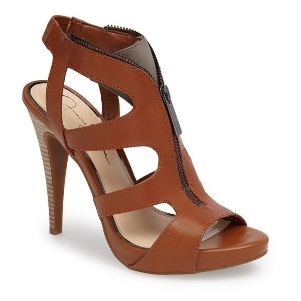 Jessica Simpson Carmyne Leather Sandal Women Light