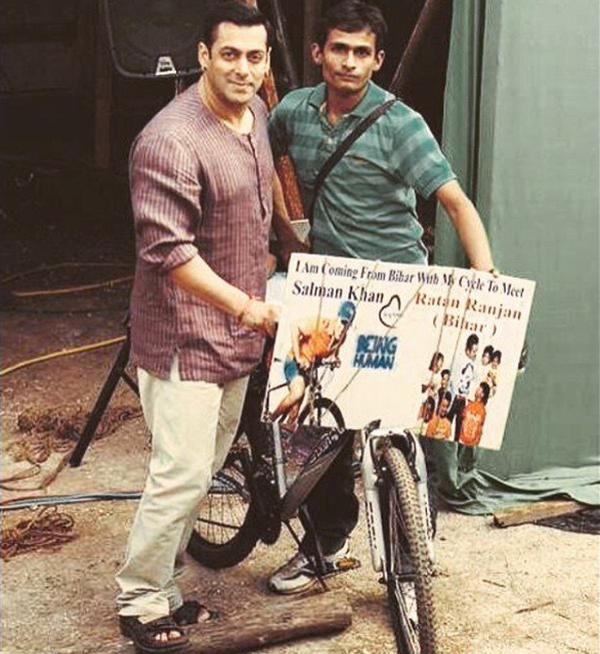 Salman's special rendezvous with a die-hard fan