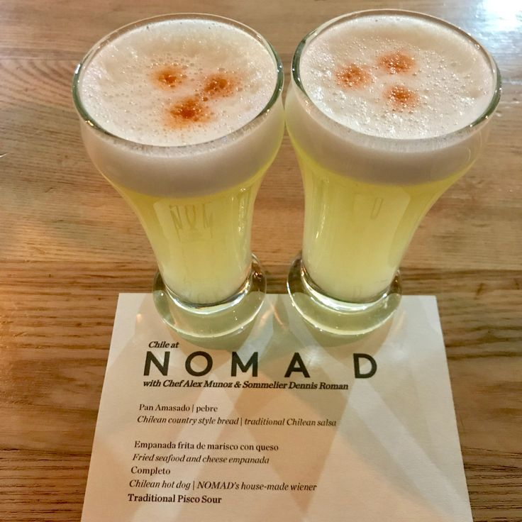 Chillin' with Chilean food (& Pisco Sours) @ Nomad (25.9.17) Franz's