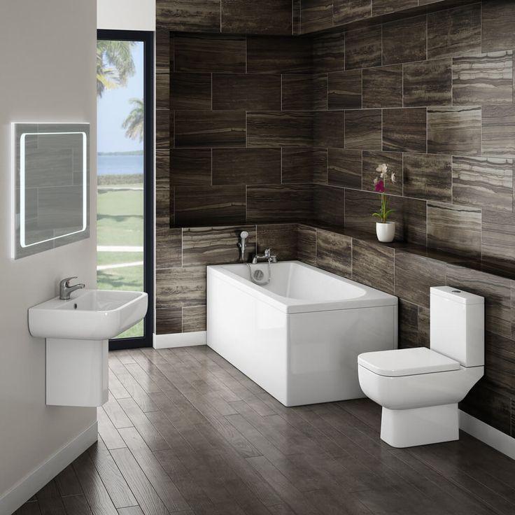 Summary The Lambeth bathroom suite is as