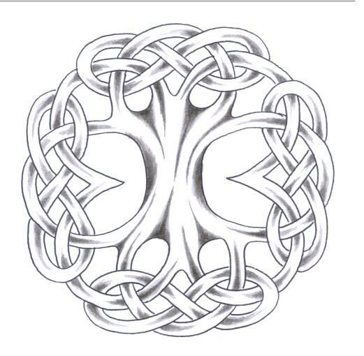 Scandinavian+Tattoos+And+Meanings | ... Norse tree of life.
