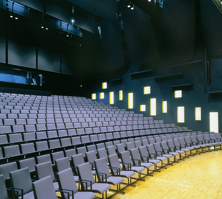 Sello Hall in Espoo Finland is furnished with Opus and Opus T chairs. Design Jouko Järvisalo