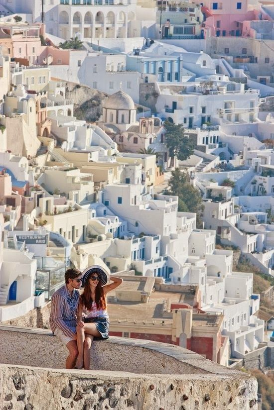 Santorini Greece - I'll be there in two weeks!!!  Romantic Santorini, Greece | Incredible Pictures