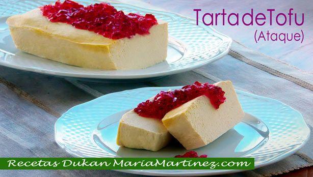 Tarta de Tofu Dukan (fase Ataque)