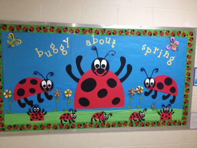 "MyClassroomIdeas.com - Creative Ideas For Your Classroom  ""We're buggy about (teacher)"
