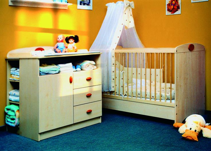 Faktum Nelli cherry baby room detail / Nelli cseresznye babaszoba részlet
