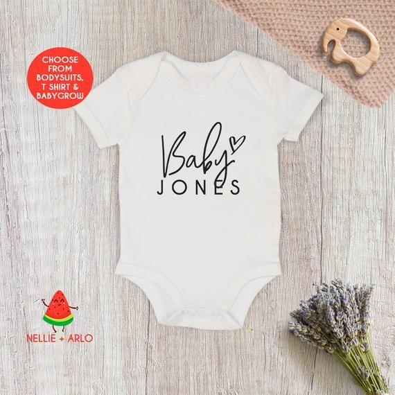 - Pregnancy Announcement Onesie Baby Shower Gift Lil Bro  Personalised Baby Onesie Baby Announcement