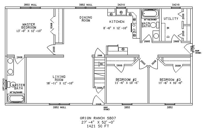 Floor Plans for Ranch Homes | Ranch Home Plans - Ranch Style Home Designs from HomePlans.com