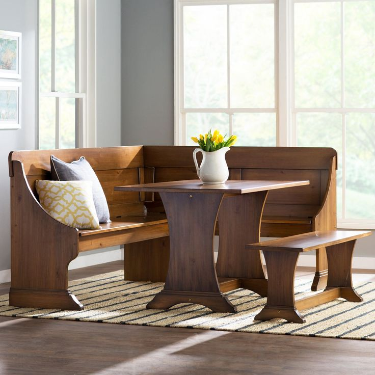 Best 10+ Corner nook dining set ideas on Pinterest | Small dining ...