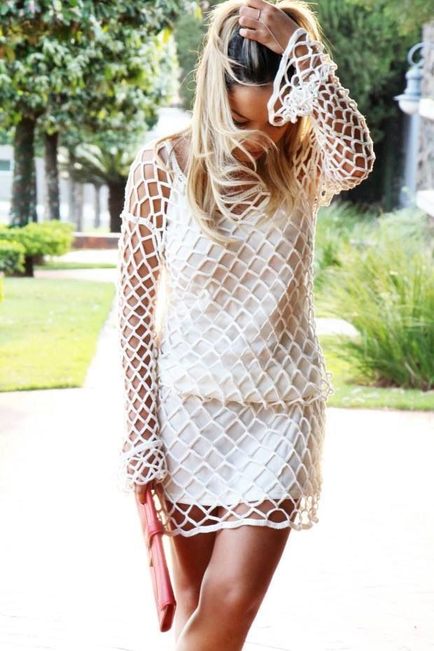 Vestido   Tejido   Pinterest