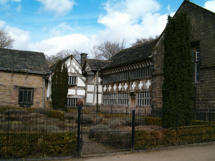 Smithills Hall, Bolton, Lancashire     Where my family lives!  It's very whimsical here :)