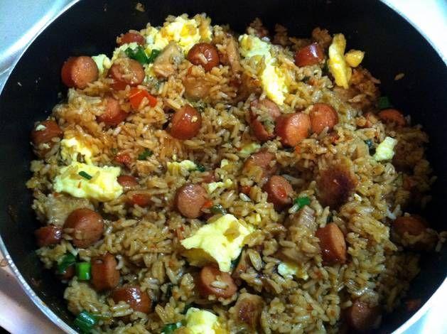 Fried Rice Peruvian Style  (chaufa)