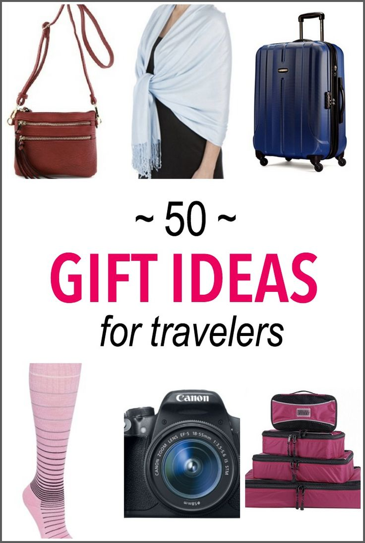 Looking for gift ideas for travelers? This list of the best travel gifts includes gifts for women, kids, electronics, packing essentials and more!