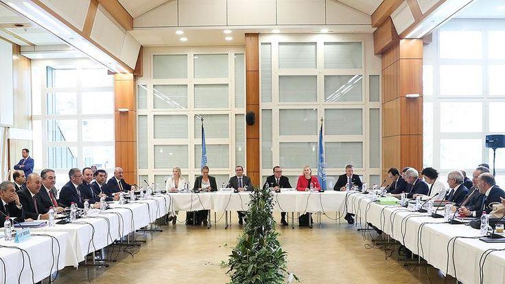 Kıbrıs Konferansı'nın yeni oturumu Birleşmiş Milletler Genel Sekreteri'nin Kıbrıs Özel Danışmanı Espen Barth Eide ev sahipliğinde, İsviçre'nin Crans-Montana kentinde başladı Kıbrıs'ta kapsamlı çözüme ulaşılması hedefiyle 12 Ocak'ta Cenevre'de düzenlenen ilk oturumla başlayanKıbrıs Konferansı'nın   #barış #birleşmiş milletler #bm #Çavuşoğlu #kıbrıs #konferans #mevlüt