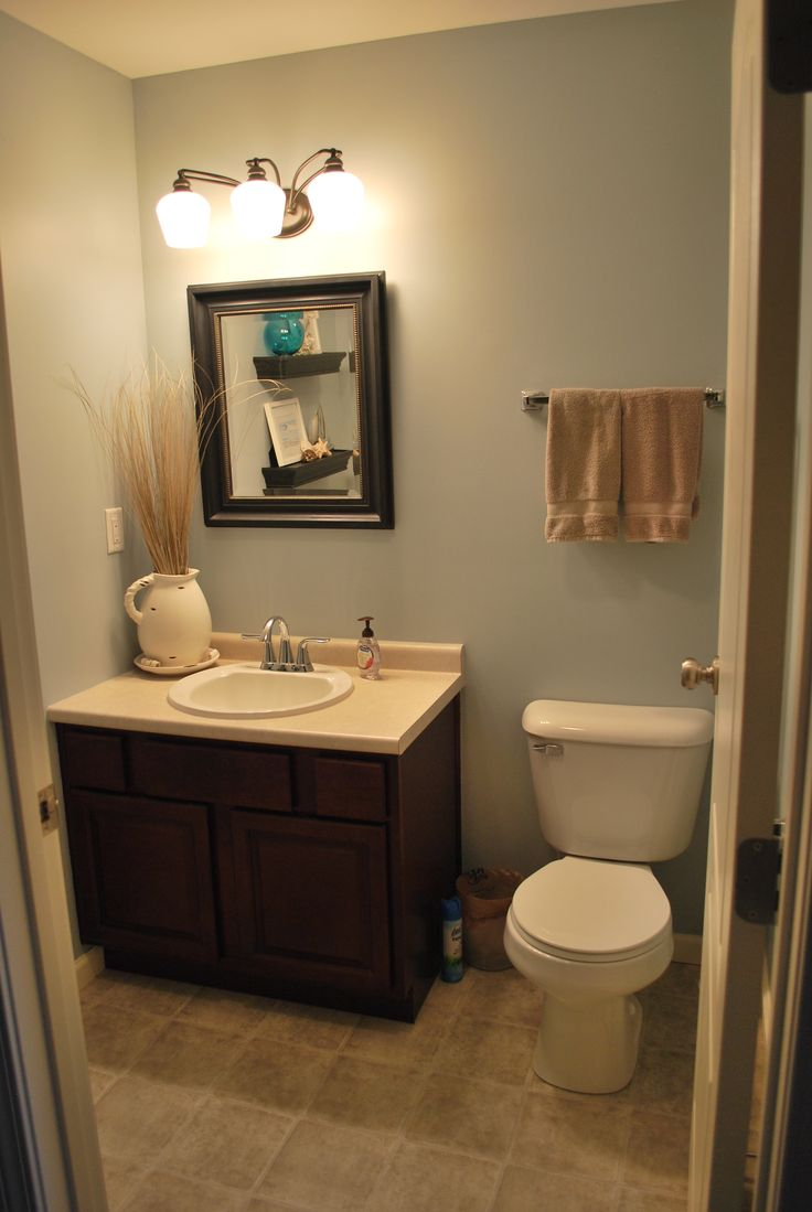 Half bath home sweet home pinterest for Bathroom images for home