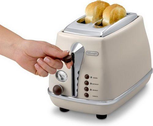 DeLonghi - CTOV2103.BG Icona Vintage kenyérpirító