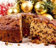 Χριστουγεννιάτικο κέικ με αποξηραμένα φρούτα & ξηρούς καρπούς