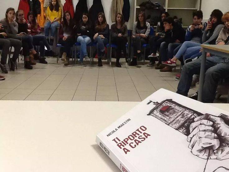 Una mattina al Liceo Bertolucci con Nicola Maestri