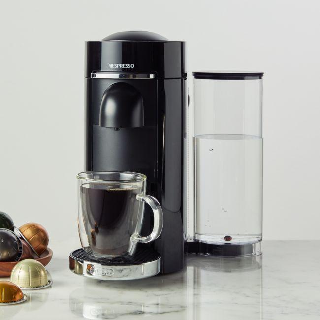 Nespresso By De Longhi Black Vertuoplus Deluxe Coffee And Espresso Machine Coffee Nespresso Espresso Machine